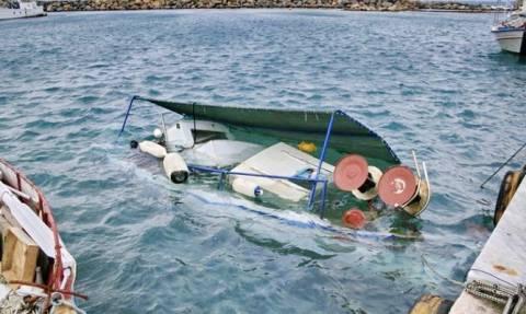 Μονεμβασιά: Βυθίστηκε αλιευτικό σκάφος – Κινδύνεψε ο ιδιοκτήτης του
