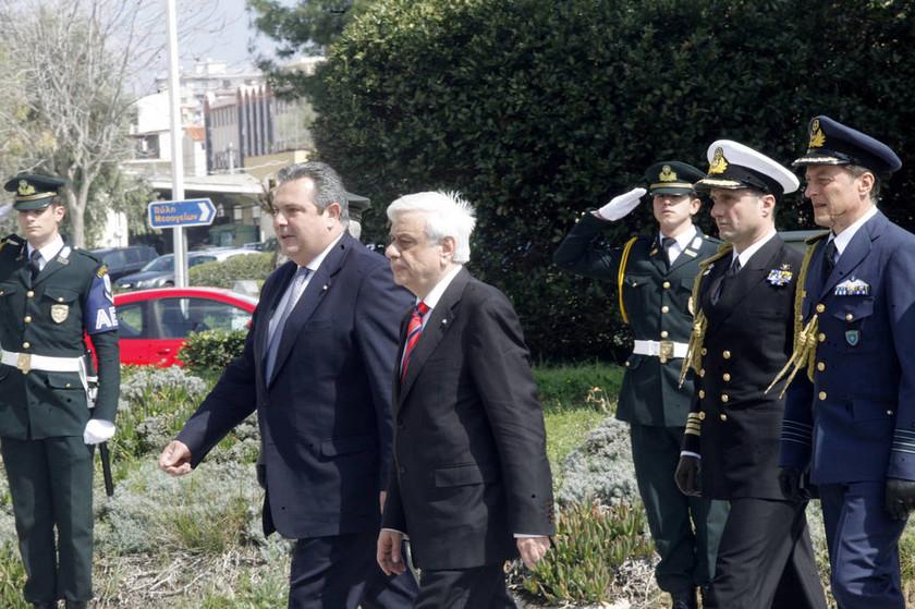 Παυλόπουλος σε Kαμμένο: Είμαι στην διάθεση των Ενόπλων Δυνάμεων (pics)