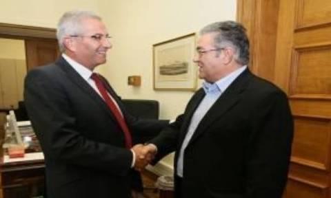 Συνάντηση Κυπριανού-Κουτσούμπα