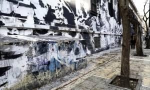 Πολυτεχνείο: Πολίτες διαμαρτυρήθηκαν για τον καθαρισμό του γκράφιτι (photos)
