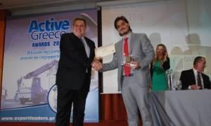 ACTIVE GREECE AWARDS 2015: Ακόμη μία βράβευση για τη ΒΙΑΝΕΞ (video)
