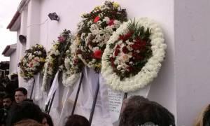 Πλήθος κόσμου αποχαιρέτησε τον Βαγγέλη Γιακουμάκη