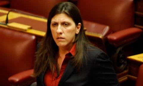 Αντιπολίτευση κατά Ζωής Κωνσταντοπούλου