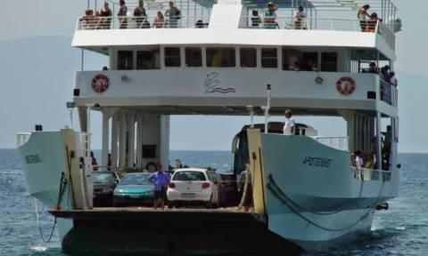 Αρκίτσα: Ηλικιωμένος έπεσε από ferry boat στη θάλασσα