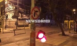 Άρχισε η αποκατάσταση των ζημιών από τα επεισόδια στην Αθήνα (Video)