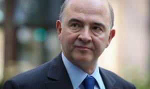 Μοσκοβισί: «Η Ε.Ε δεν θα κρατήσει την Ελλάδα στην Ευρωζώνη με κάθε τίμημα»