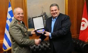 Συνάντηση ΥΕΘΑ  με τον Αρχηγό των Ενόπλων Δυνάμεων της Τυνησίας