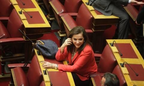 Μπακογιάννη: Έκανε λάθος η ΝΔ που ψήφισε θετικά για την Κωνσταντοπούλου
