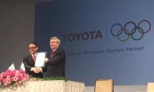 Toyota: Συνεργάτης της Διεθνούς Ολυμπιακής Επιτροπής