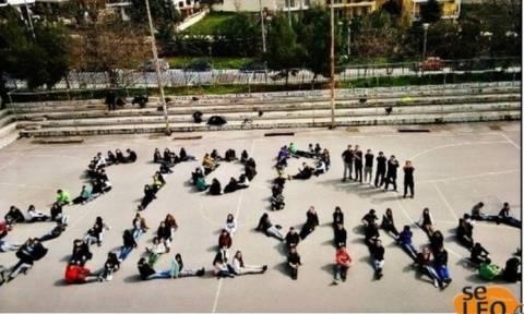 Θεσσαλονίκη: Μαθητές κατά του bullying (Photo)