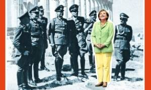 Spiegel: Η Μέρκελ «ποζάρει» με ναζί αξιωματικούς στον Παρθενώνα