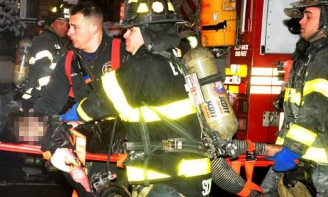 Τραγωδία στη Νέα Υόρκη: Επτά παιδιά κάηκαν ζωντανά σε πυρκαγιά