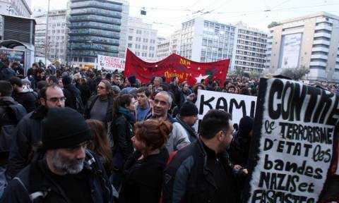 Αντιρατσιστικές συγκεντρώσεις στο κέντρο της Αθήνας