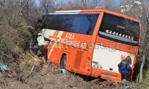 Εκτροπή λεωφορείου: «Είχαμε Άγιο», λένε οι επιβάτες