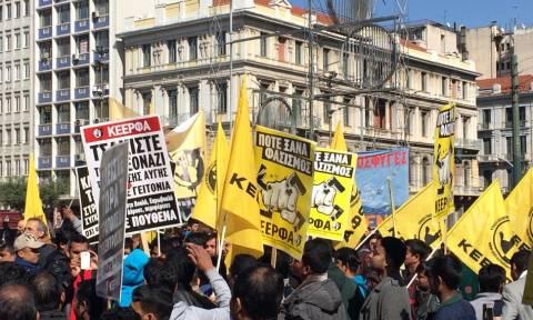 Άνοιξαν οι δρόμοι στο κέντρο της Αθήνας μετά την αντιρατσιστική πορεία