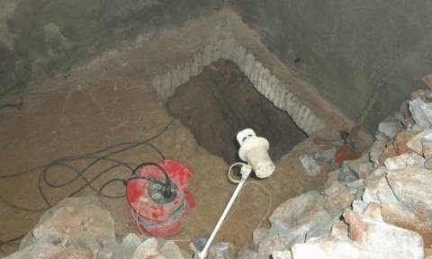 Δράμα: Έσκαβαν για κρυμμένο θησαυρό σε στρατιωτικό οχυρό (Photos)
