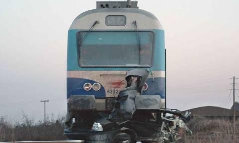 Βόλος: Σύγκρουση αυτοκινήτου με τρένο