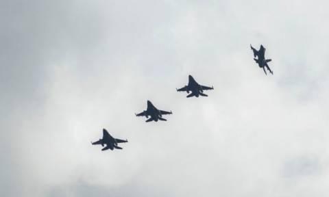 Νέα πρόκληση στο Αιγαίο από τουρκικά F-16