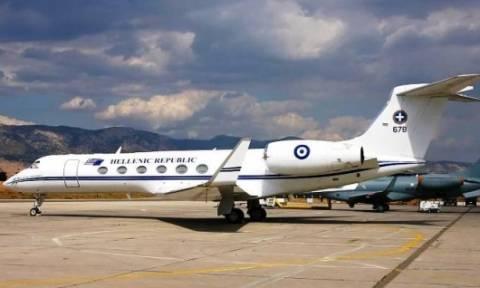 Το πρωθυπουργικό αεροσκάφος στην υπηρεσία του «Χαμόγελου του Παιδιού»