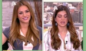 Η ανακοίνωση της Ελένης Τσολάκη on air, που έκανε «έξαλλη» την Τσιμτσιλή