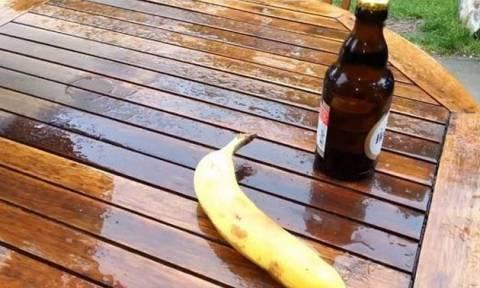 Μπορείτε να ανοίξετε μια μπύρα με μια... μπανάνα (video)