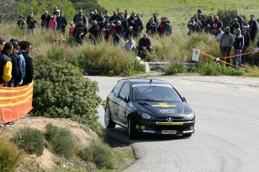 Στα δίλιτρα της Ν, επικράτησε ο Νίκος Ντούρας με Peugeot 206 RC