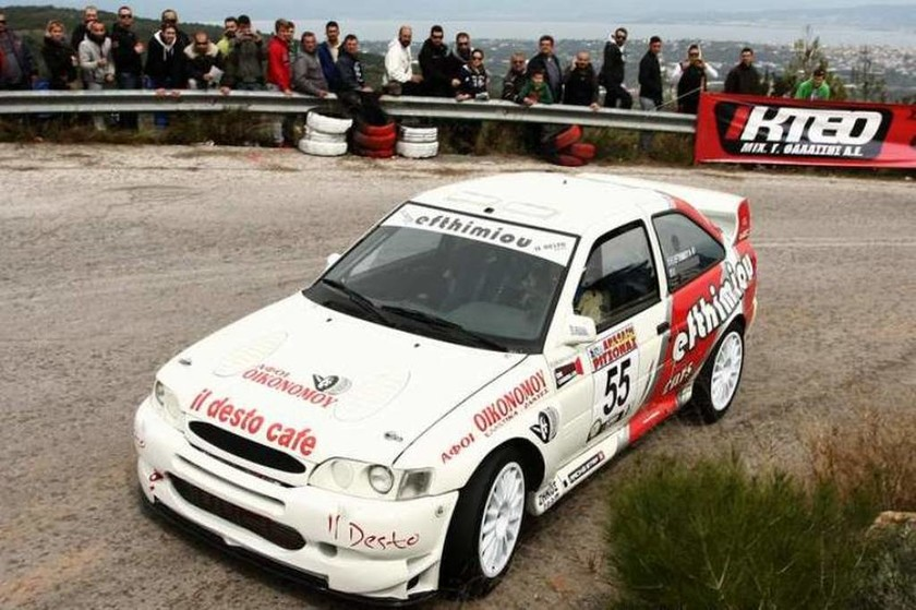Στην Ομάδα Α, ο Μιχάλης Ευθυμίου έκανε ποδαρικό με νίκη με το Ford Escort WRC