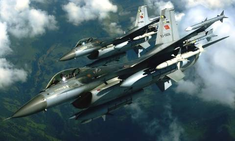 Τουρκικά μαχητικά πέταξαν πάνω από τους Ανθρωποφάγους
