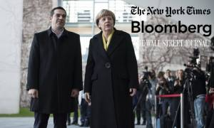 Τι αναφέρουν τα ΜΜΕ των ΗΠΑ για τη συνάντηση Τσίπρα – Μέρκελ