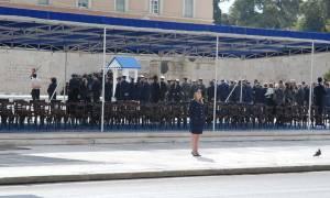 Ξεκίνησε η μαθητική παρέλαση της 25ης Μαρτίου (photos)