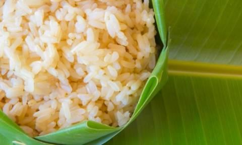 Ρύζι: Το τρικ για να μειώσετε τις θερμίδες του στο μισό!