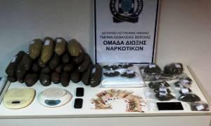 Θεσσαλονίκη: Σύλληψη 61χρονου με μεγάλη ποσότητα κάνναβης