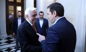Συνάντηση Τσίπρα – Παυλόπουλου με φόντο την ελληνική επανάσταση