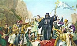 Σαν σήμερα το 1821 ο Παλαιών Πατρών Γερμανός κηρύσσει την έναρξη της Επανάστασης