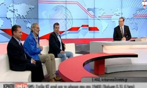 Ο Γερμανός φιλέλληνας που στηρίζει την Ελλάδα… περπατώντας! (video)