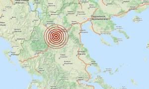 Σεισμός 3,4 Ρίχτερ μεταξύ Γρεβενών και Κοζάνης
