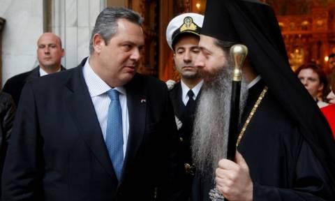Καμμένος: Όποιος απειλήσει την εθνική κυριαρχία θα βρει τους Έλληνες ενωμένους
