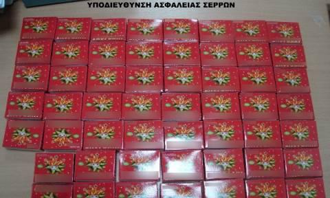 Κατασχέσεις βεγγαλικών και κροτίδων στη Μακεδονία