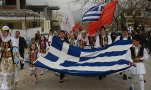 Η Β. Ήπειρος τίμησε την επέτειο της 25ης Μαρτίου