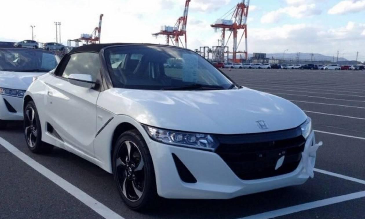 Honda: Νέο S660 με κινητήρα στο κέντρο (photos)