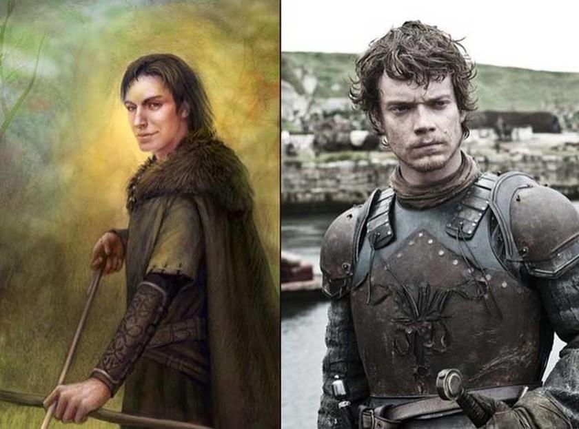 Δείτε πώς είναι οι χαρακτήρες του Game of Thrones στα βιβλία (photos)