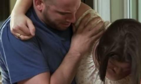 Δεν ήξερε ότι ήταν έγκυος και έπαθε σοκ όταν το μωρό προσγειώθηκε στο πάτωμα!