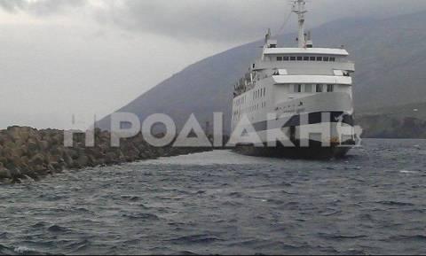 Συνεχίζεται η ταλαιπωρία για τους επιβάτες του «Βιτσέντζος Κορνάρος»