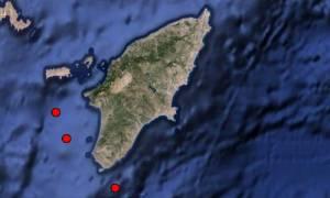 Σεισμική δραστηριότητα στη Ρόδο - Τρεις σεισμοί σε μία ώρα