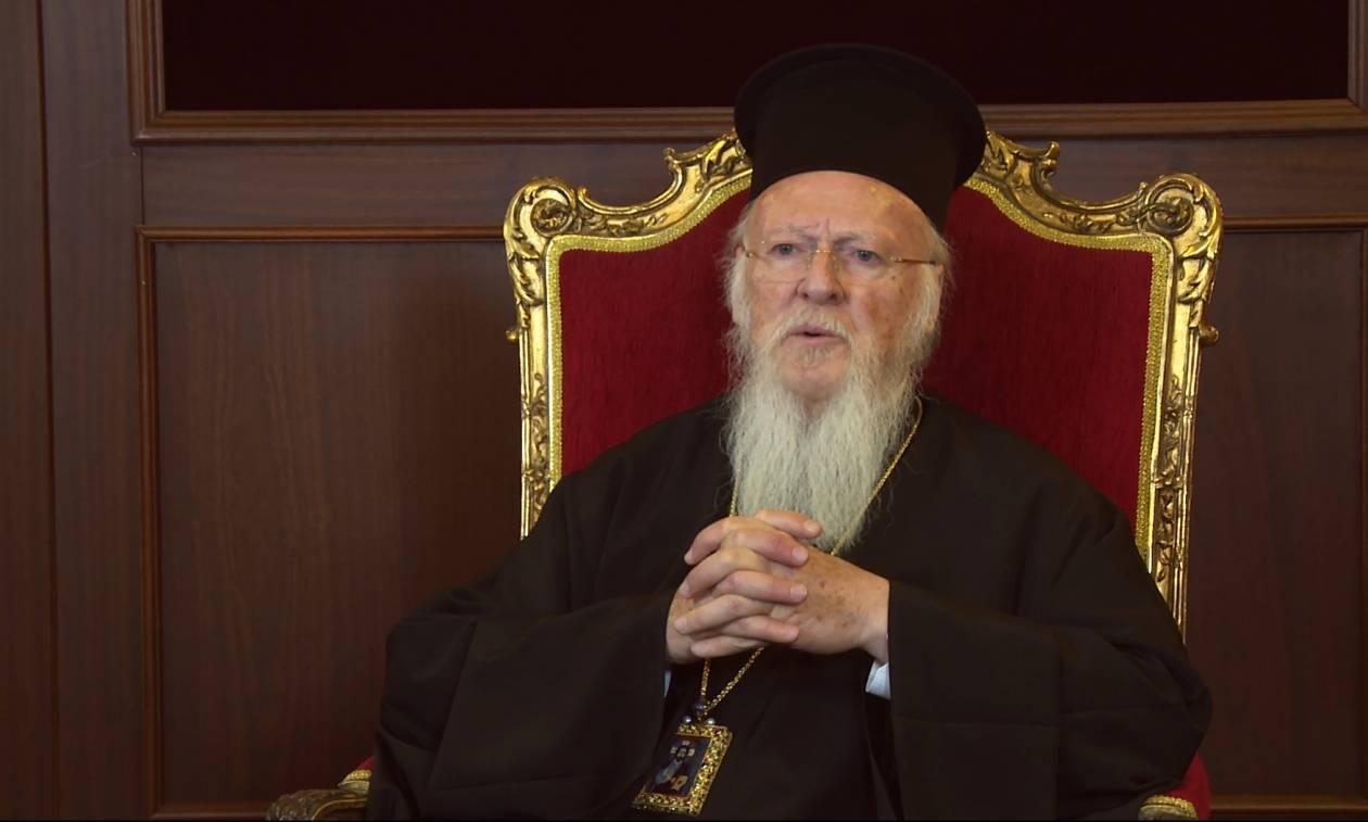 Πατριάρχης Βαρθολομαίος: Η παρουσία των Ελλήνων μας δυναμώνει και μας ενισχύει