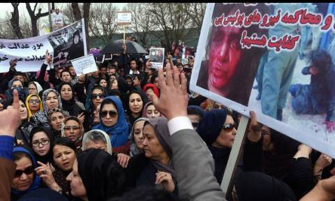 Αφγανιστάν: Διαδηλώσεις στην Καμπούλ για τον θάνατο της 27χρονης από λιντσάρισμα