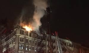 ΗΠΑ: Δεύτερη πυρκαγιά στην καρδιά του Μανχάταν (pics)