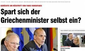 Με προκλητικό δημοσίευμά της η γερμανική Bild «παραιτεί» τον Γ. Βαρουφάκη