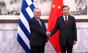 Σε θερμό κλίμα η συνάντηση Δραγασάκη - Μα Κάι στο Πεκίνο