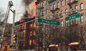 Κάμερα κατέγραψε ισχυρή έκρηξη στη Νέα Υόρκη (vid)